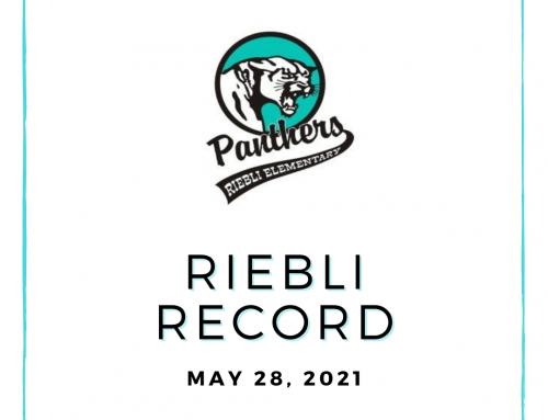 5.28.21 Riebli Record
